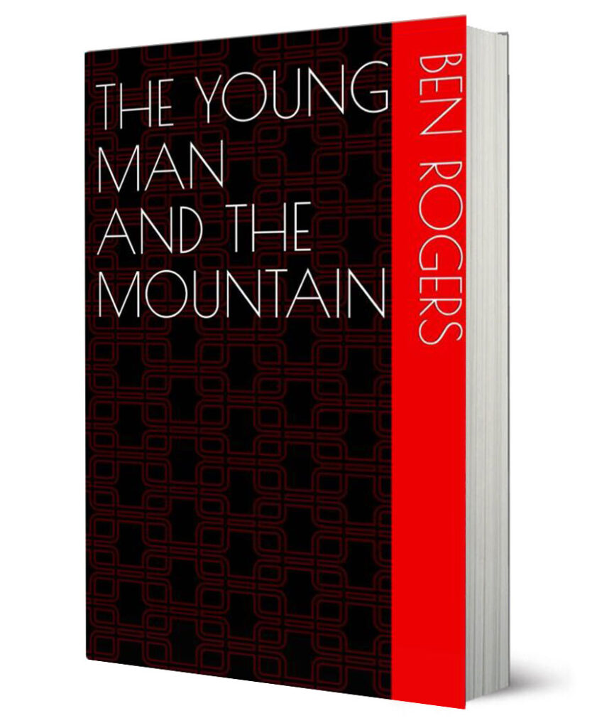 The young man and the mountain